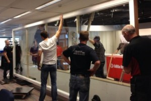 verbouwing RTL Nieuws studio