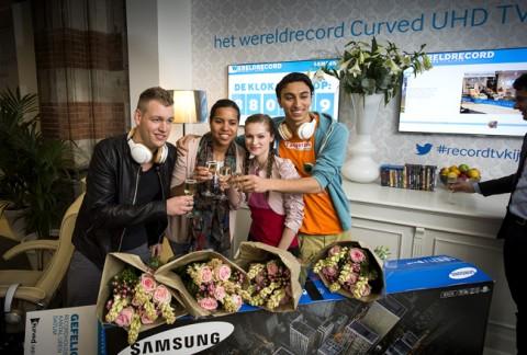 Samsung wereldrecord